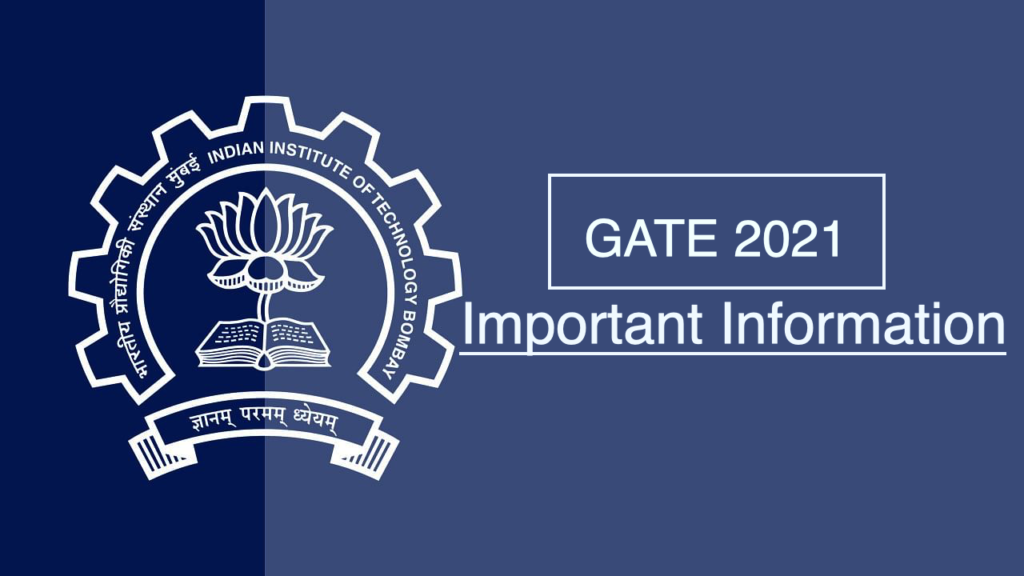 GATE Application Form Apply Now