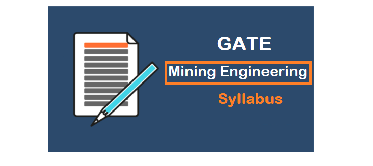 GATE Mining Engineering Syllabus 2021 #NEW (MN)