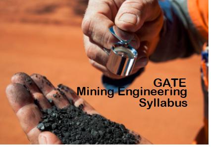 GATE Mining Engineering Syllabus