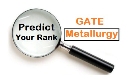 GATE Metallurgy Rank Predictor