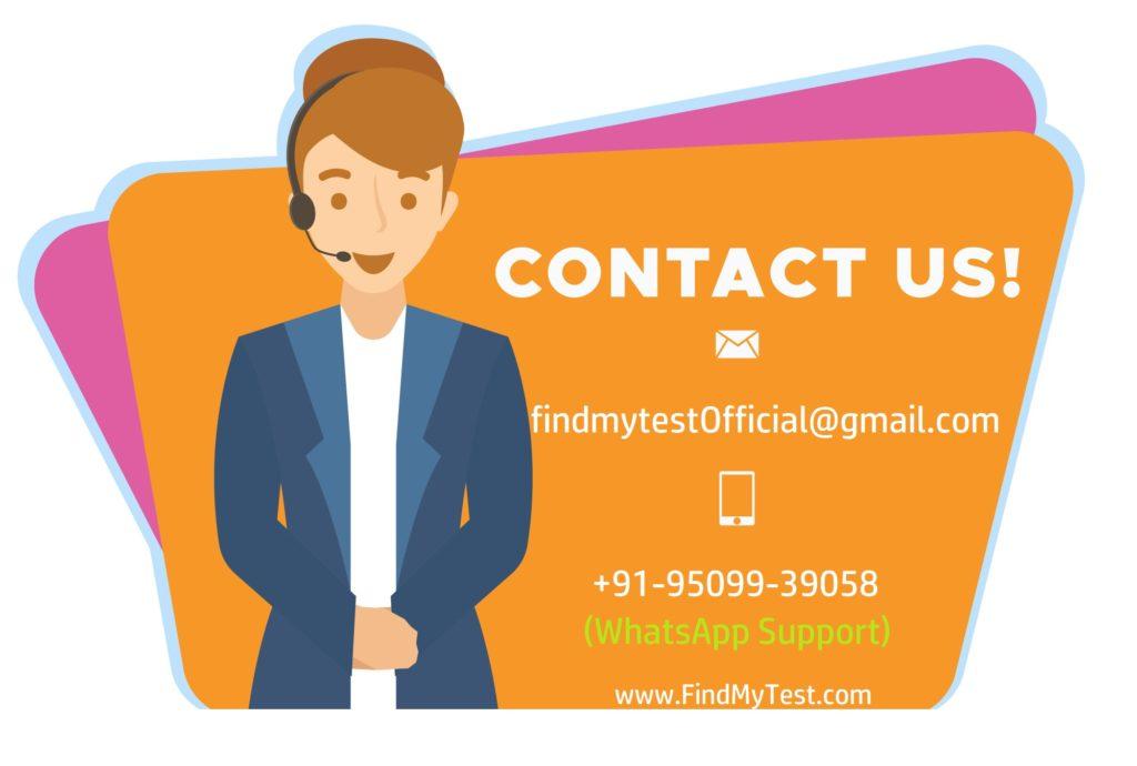 Contact FindMyTest